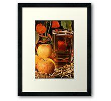 Glass of Cider Framed Print