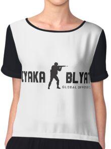 Counter Strike Global Offensive Cyka Blyat Chiffon Top