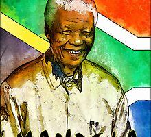 Nelson Mandela 2 by Kai Saarto