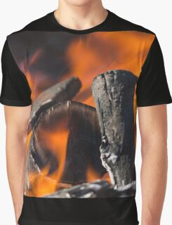 fire in the forest Graphic T-Shirt