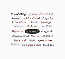 Outlander/Jamie & Claire Fraser Unisex T-Shirt