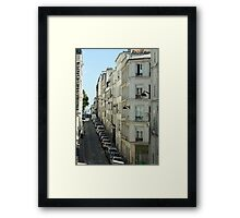 Paris Streetscape Framed Print