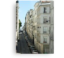 Paris Streetscape Metal Print