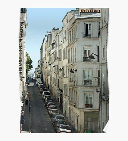 Paris Streetscape Poster