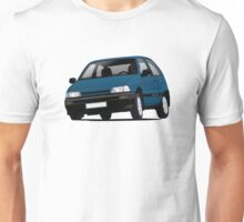 Daihatsu Charade GTti illustration, blue Unisex T-Shirt
