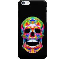 Watercolor Skull / Neon / Colorful iPhone Case/Skin