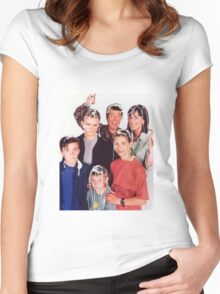 Malcolm in the Middle Women's Fitted Scoop T-Shirt