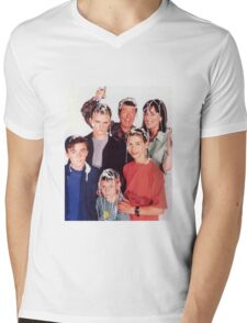 Malcolm in the Middle Mens V-Neck T-Shirt