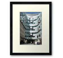 The BBC At Home in London Framed Print