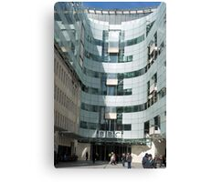 The BBC At Home in London Canvas Print