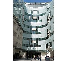 The BBC At Home in London Photographic Print
