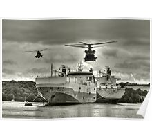 Choppers n Ships  Poster
