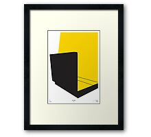 Pulp Fiction Minimal Film Poster Framed Print
