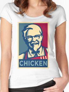 KFC Hope Women's Fitted Scoop T-Shirt