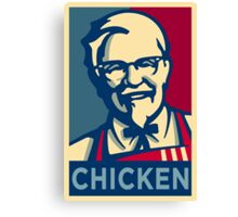 KFC Hope Canvas Print