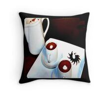 Chocolate is Served Throw Pillow