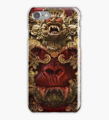 Planet of the Vampire Apes iPhone Case/Skin