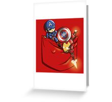 Pocket War Greeting Card