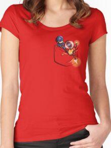 Pocket War Women's Fitted Scoop T-Shirt
