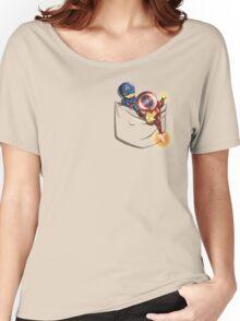 Pocket War Women's Relaxed Fit T-Shirt