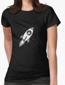 You take me to otter space! Womens Fitted T-Shirt