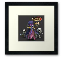WITCH COC Framed Print