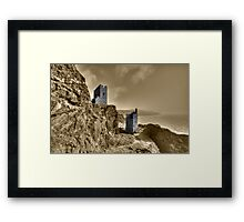 Crown Tin Mines  Framed Print