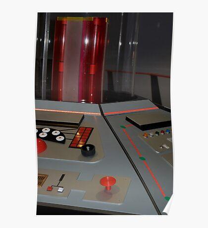 Classic TARDIS Console Poster