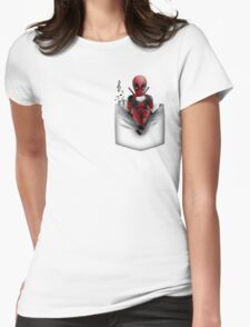 Ugly Pocket Womens Fitted T-Shirt