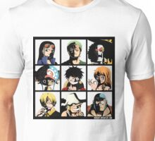 Straw hats crew Unisex T-Shirt