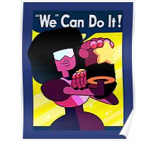 """We"" Can Do it! // Garnet Steven Universe Poster Poster"