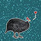Guinea Fowl love by Danelle Malan
