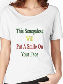 This Senegalese Will Put A Smile On Your Face  Women's Relaxed Fit T-Shirt