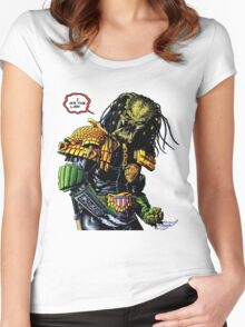 Predator's Law  Women's Fitted Scoop T-Shirt