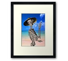 Looking forward to the Summer Framed Print