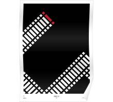 Schindler's List Minimal Film Poster Poster