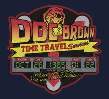 Back to the Future - Doc Brown Time Travel Services by metacortex
