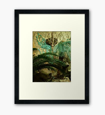 Let's Play A Game Of Finding That Snake Framed Print