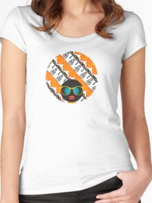 Orange garden Women's Fitted Scoop T-Shirt