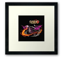 DRAGON COC Framed Print