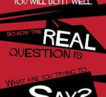 What Say You? by Yena-Kiachi