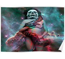 Cosmic Snake Dance Poster