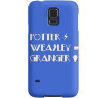 Potter, Weasley, Granger Samsung Galaxy Case/Skin