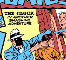 The Clock Comic Cover Sticker