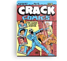The Clock Comic Cover Metal Print