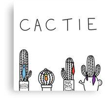 Cacti(e) Canvas Print