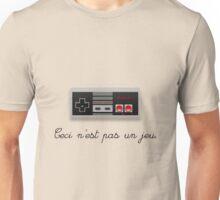 Ceci NES pas un jeu Unisex T-Shirt