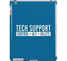 Tech Support Funny Quote iPad Case/Skin