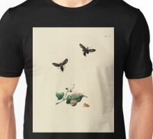 Surinaamsche vlinders  naar het leven geteekend Papillons de Surinam dessinés d'après nature Jan Sepp 1852 038 Moths Butterflies Unisex T-Shirt