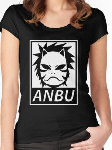 Anbu Women's Fitted Scoop T-Shirt